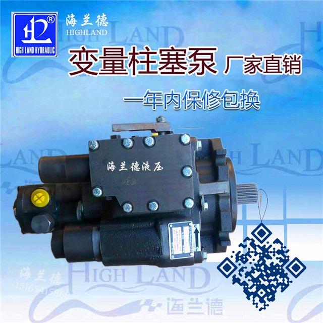 变量柱塞泵工厂定制,海兰德液压