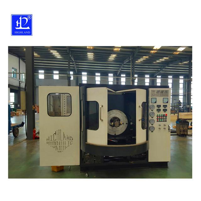 液压齿轮油泵综合测试台