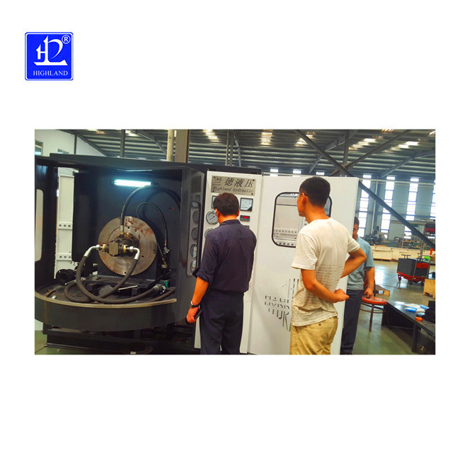 挖掘机液压泵检测台