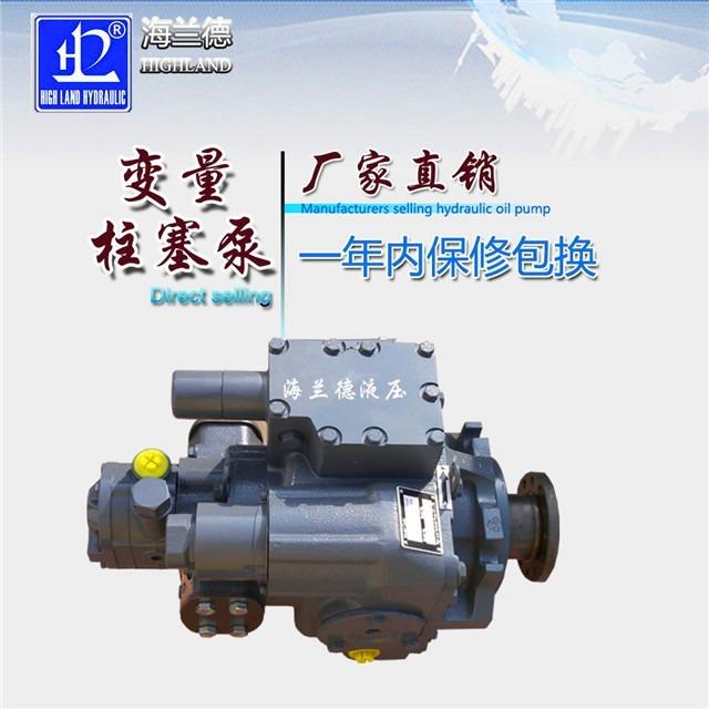 变量柱塞液压泵