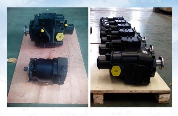 水泥搅拌车液压泵马达